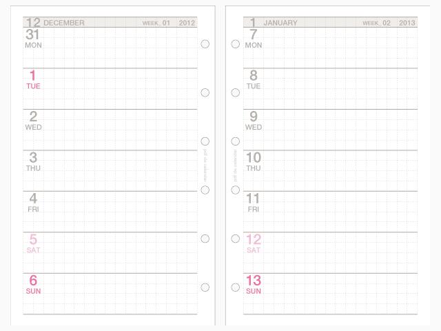 すべての講義 バーチカル手帳ダウンロード : 私の手帳活用法(11141記事 ...